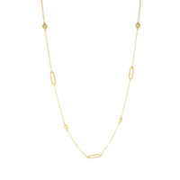 18k Yellow Gold Barocco Braid Diamond Exclusive