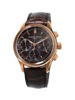 Frederique Constant Flyback Chronograph Manufacture Rose Tone Gray dial