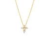 Roberto Coin baby cross diamond necklace