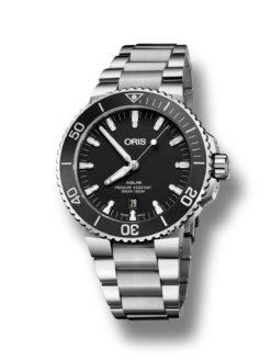 Oris Aqua Date Black
