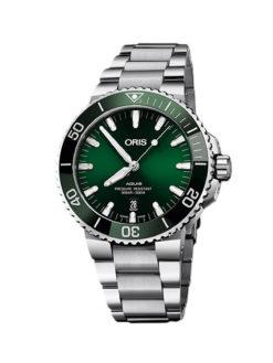 Oris Aqua Date Green