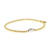 Fope 18k Yellow Gold Flex' It Mini Eka Bracelet