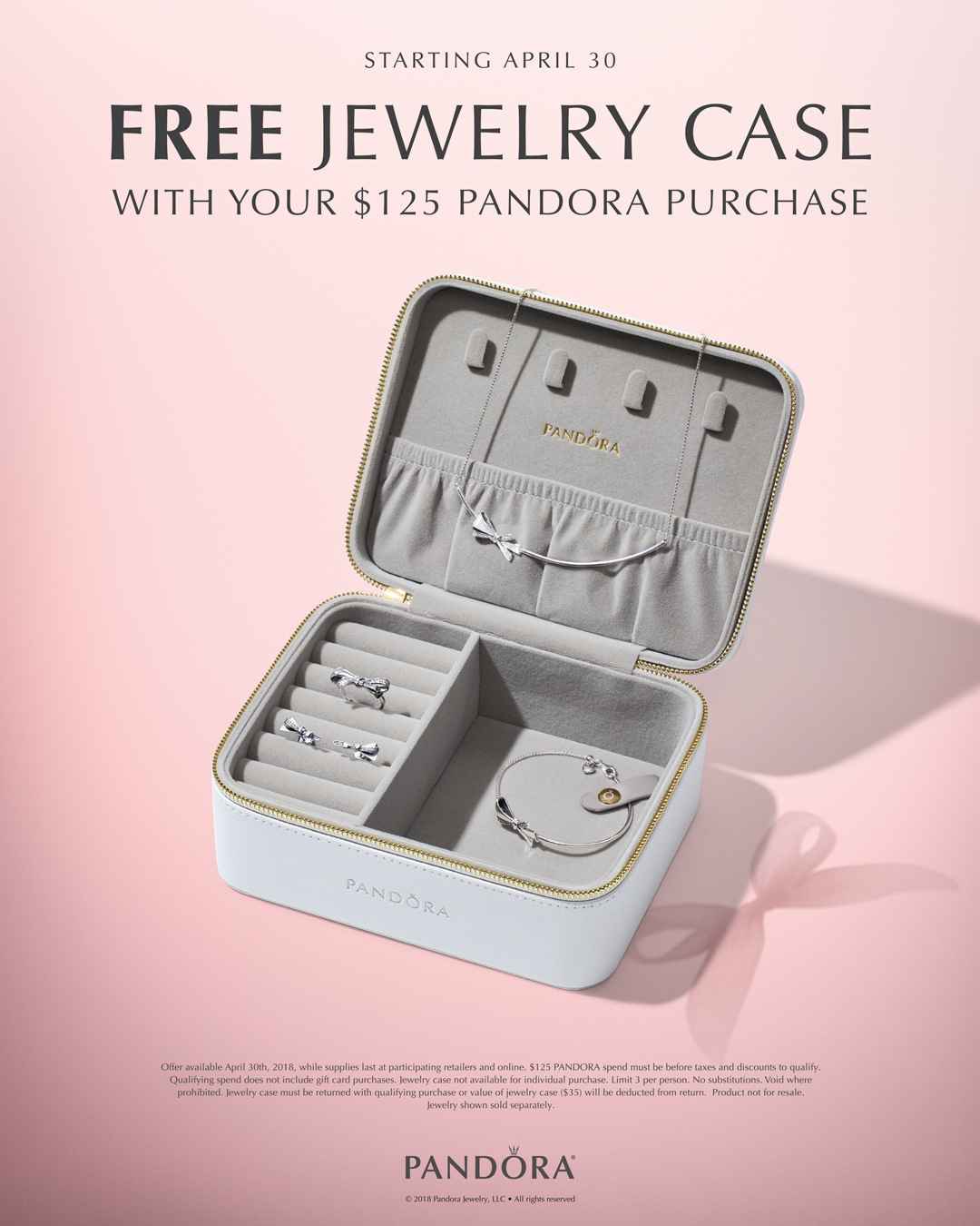 Free Pandora Gift Set at Little Treasury Jewelers with your