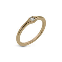 Simon G Rose Gold Ring LR1193