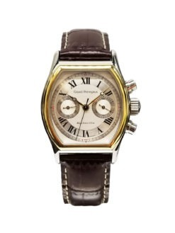 Gent's Girard-Perregaux two-tone 18k gold and steel chronograph