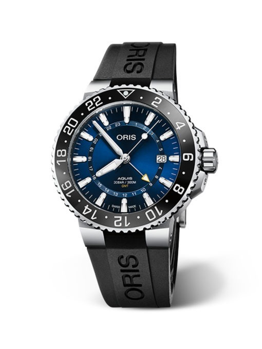 ORIS AQUIS DATE RUBBER STRAP watch