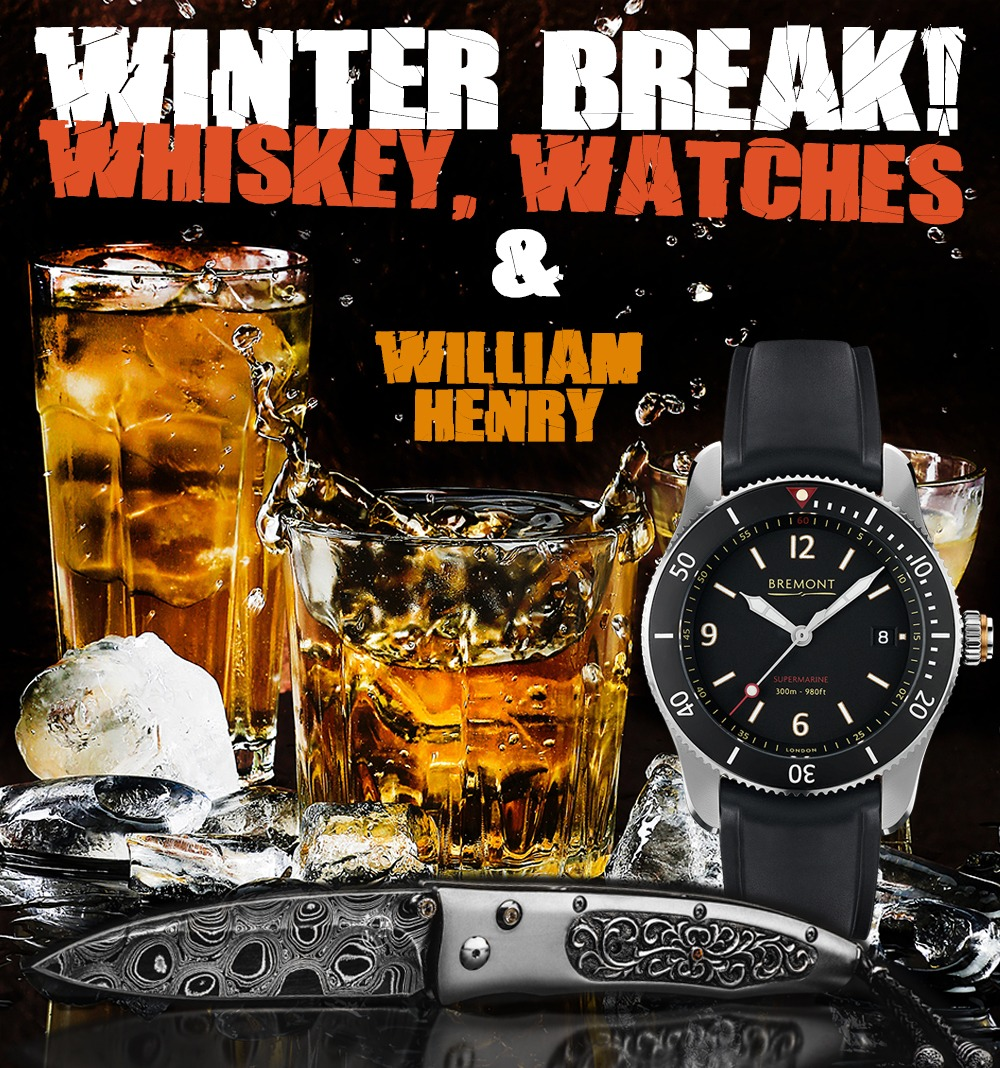 Whiskey, Watches, William Henry