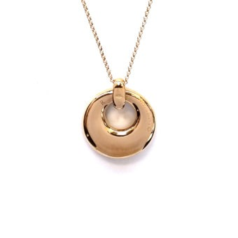 18k Rose Gold Pendant Necklace