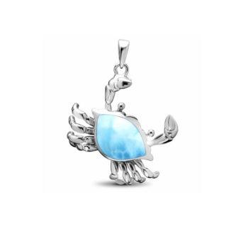 Marahlago crab pendant