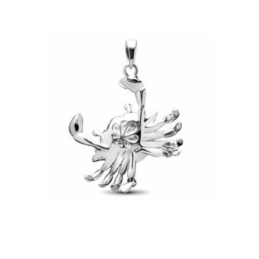 Marahlago crab pendant back