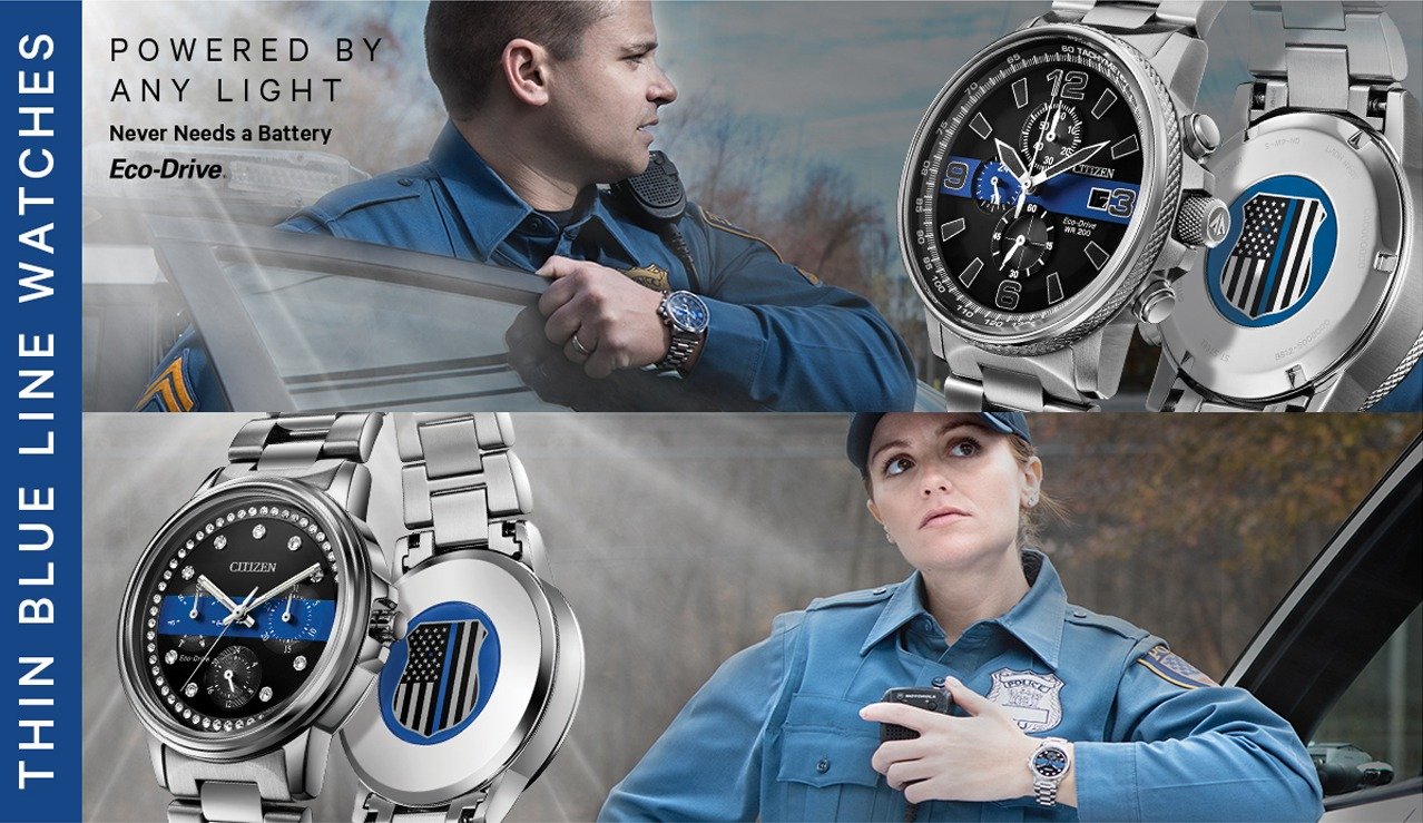 Men and Womens Police Watch