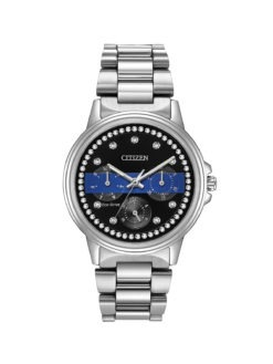 Citizen Thin Blue Line Womens Watch