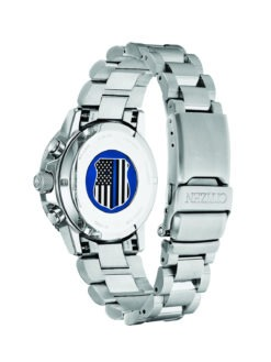 Citizen Men's Thin Blue Line Watch Back