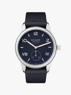CLUB CAMPUS NEOMATIK 39 MIDNIGHT BLUE 767 Watch Nomos