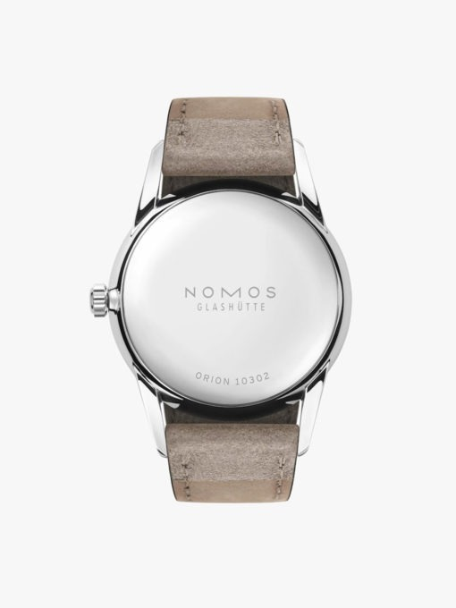 Nomos ORION 33 DUO 319 watch back