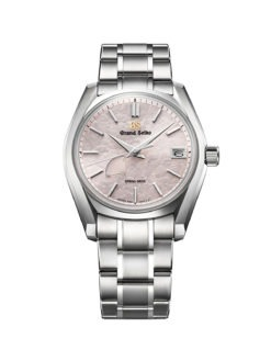 Grand Seiko SBGA413 Pink SpringWatch