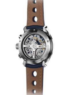 Bremont Jaguar D Type back of watch