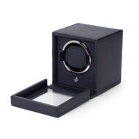 Blue Wolf Cub Watch Winder with Cover