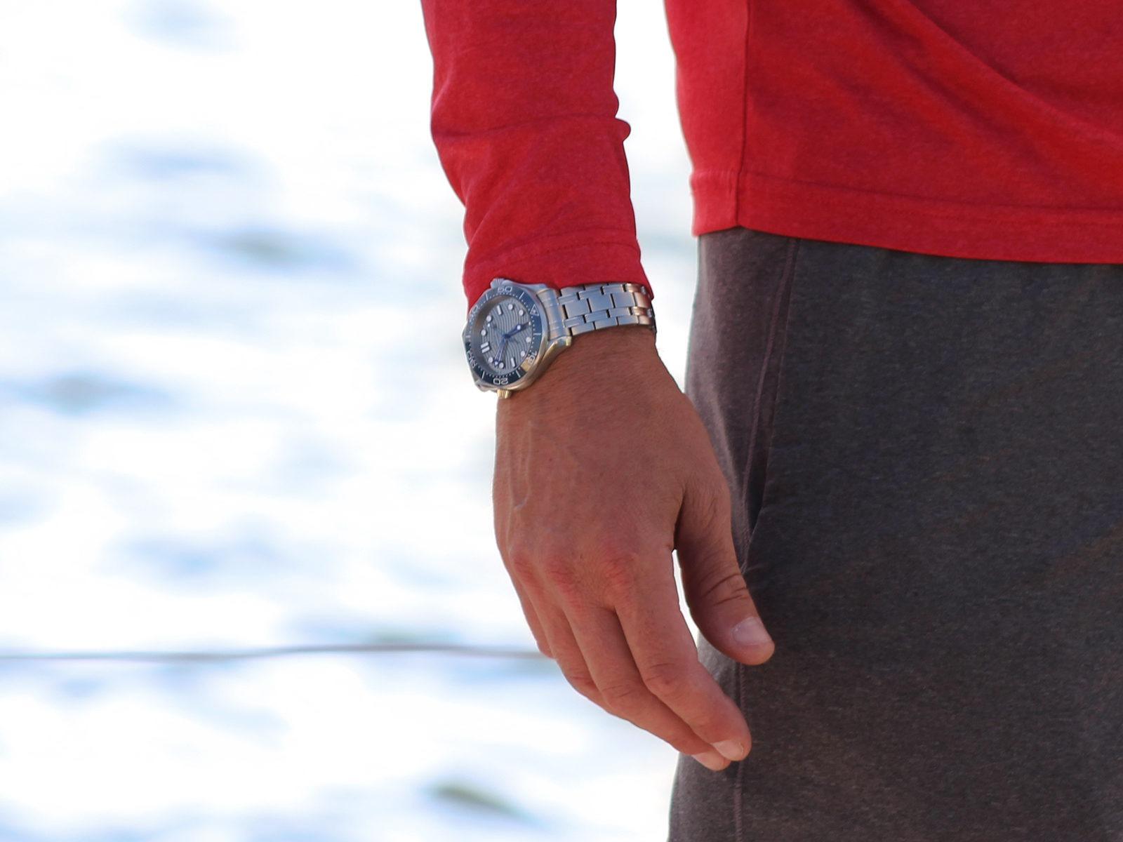 Omega Watch On Sailer