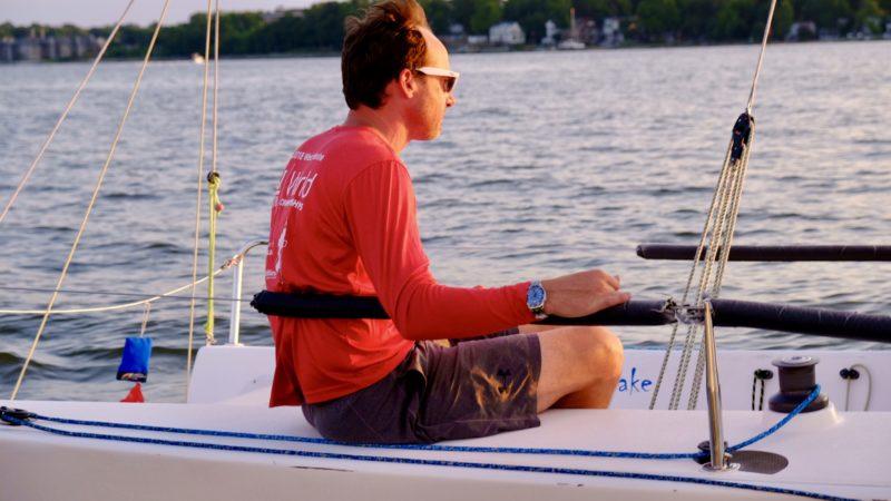 Omega Seamaster Lifestyle shot