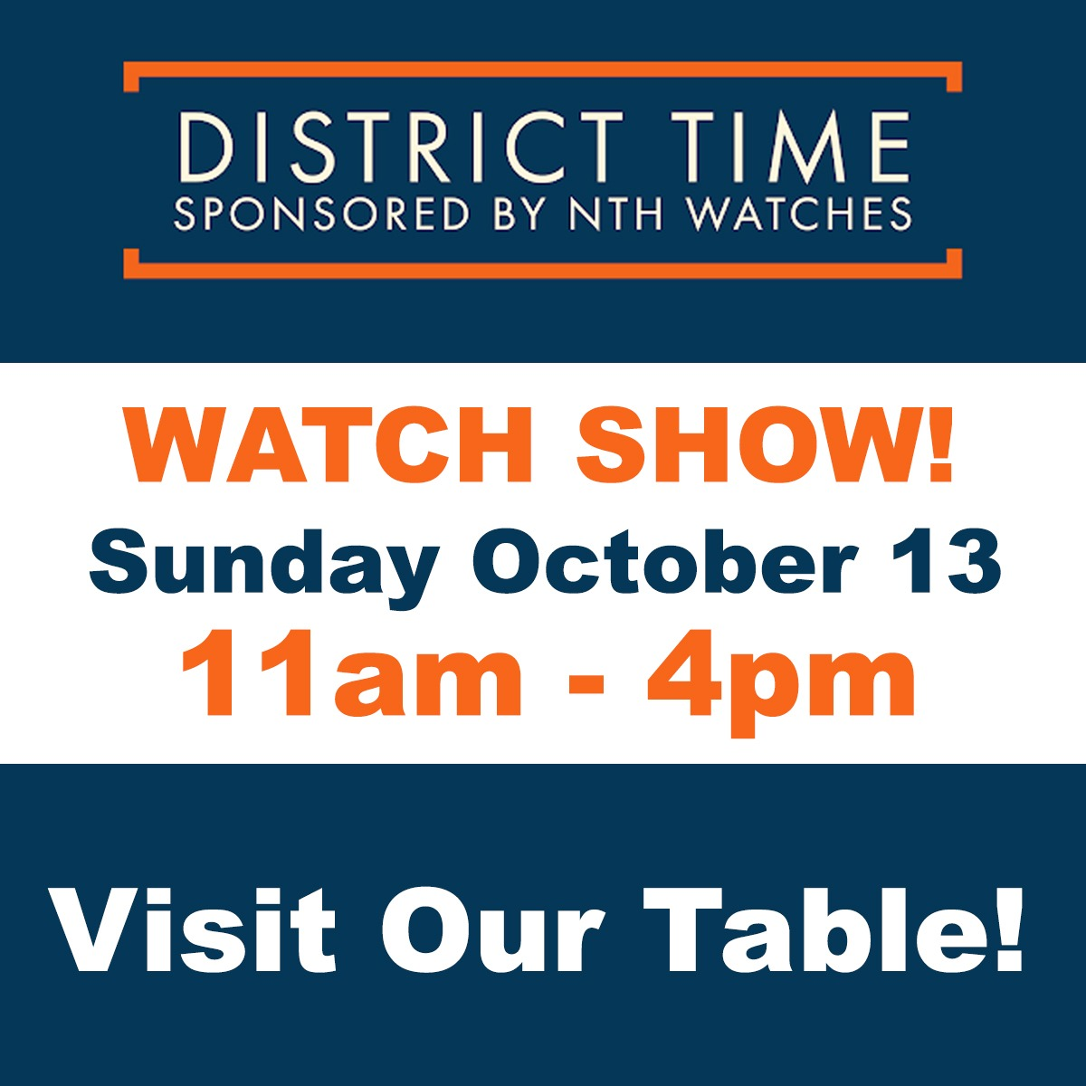DC Time Watch Show