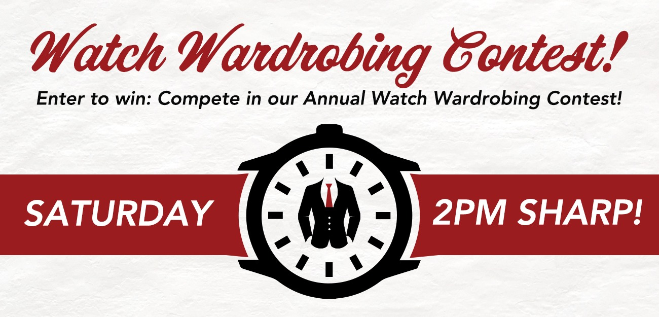 Time Out Watch Wardrobe Image