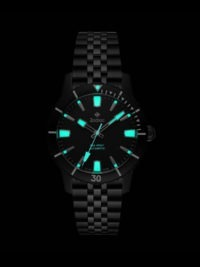 Zodiac ZO9276 Blackout watch Glowing