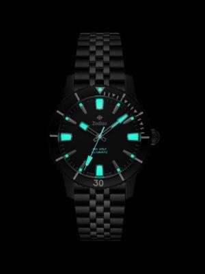 Zodiac ZO9276 Blackout watch Glowing
