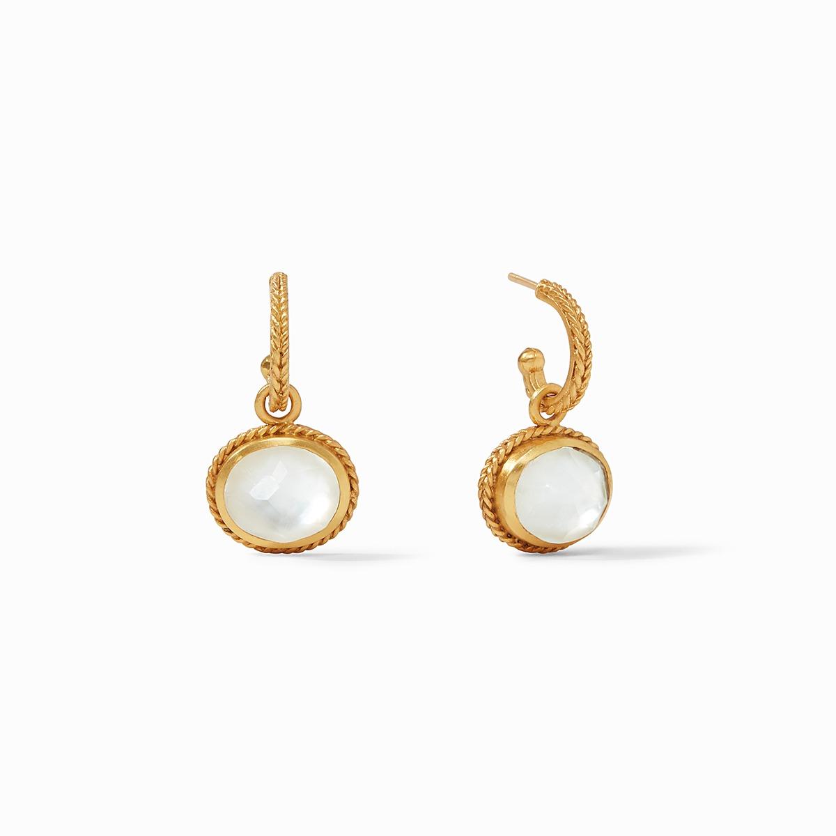 Calypso Hoop & Charm Earring