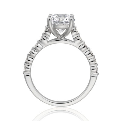 Henri Daussi Engagement Ring HZCL