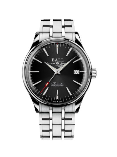 Ball Trainmaster Manufacture 80 Hours NM3280D-S1CJ-BK