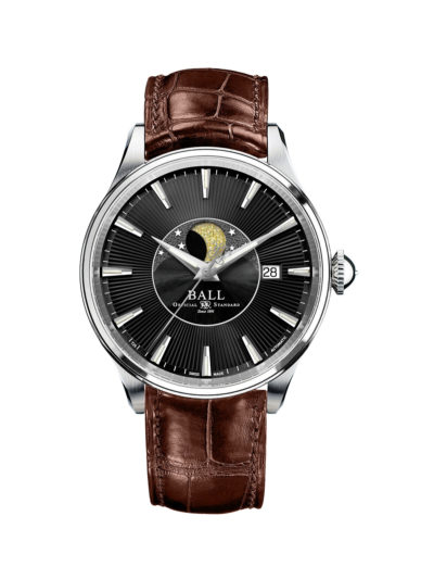 Ball Trainmaster Moon Phase NM3082D-LLJ-BK