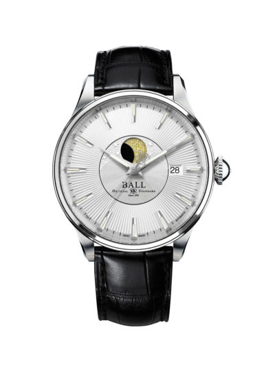 Ball Trainmaster Moon Phase NM3082D-LLJ-SL