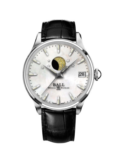 Ball Trainmaster Moon Phase Ladies NL3082D-LLJ-WH