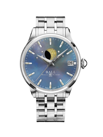 Ball Trainmaster Moon Phase Ladies NL3082D-SJ-BE