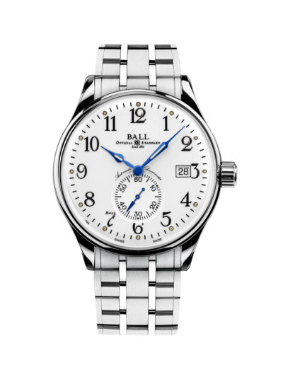 Ball Trainmaster Standard Time NM3888D-S1CJ-WH