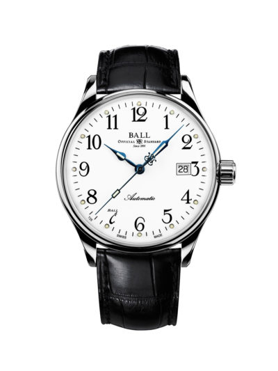 Ball Trainmaster Standard Time 135 Anniversary Limited Edition NM3288D-LLJ-WH