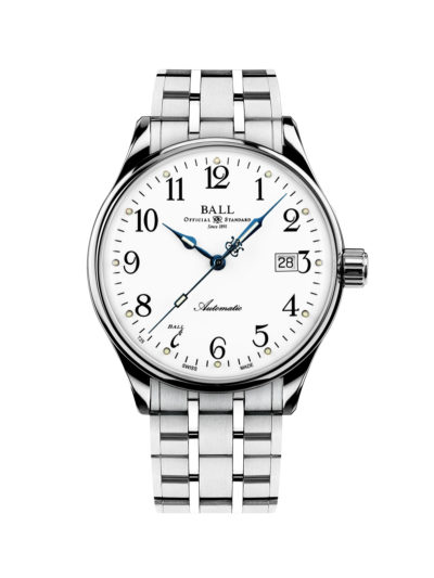 Ball Trainmaster Standard Time 135 Anniversary Limited Edition NM3288D-SJ-WH