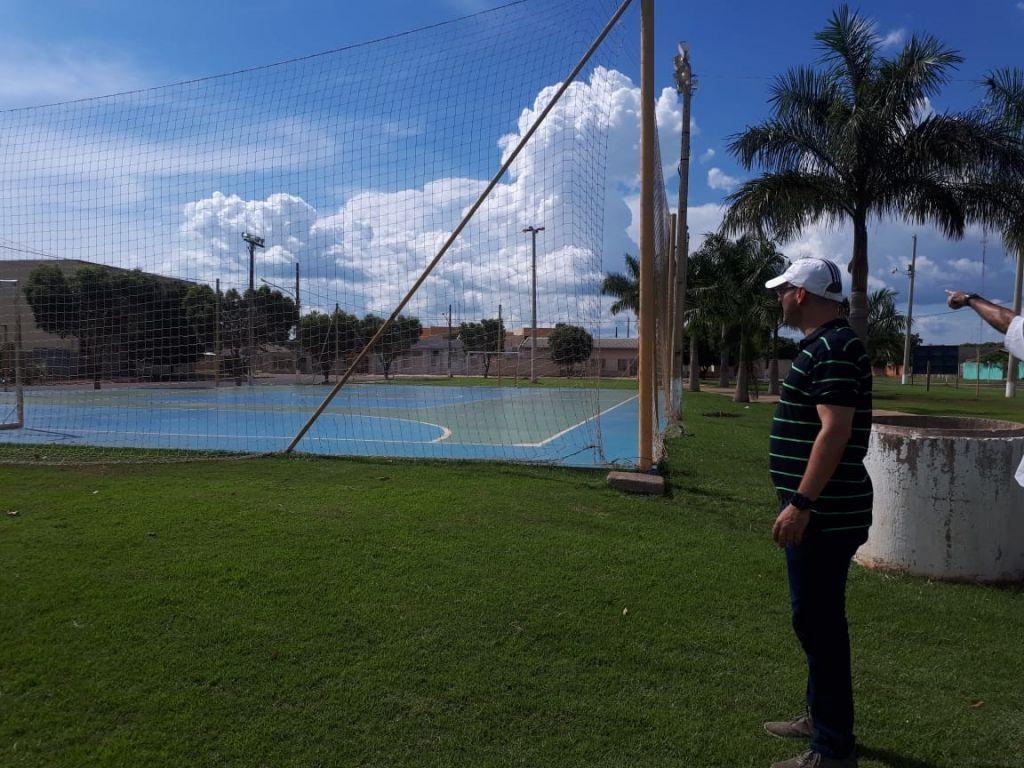 2e17eda73 Secretaria de Esportes vistoria espaços públicos de Lucas do Rio Verde