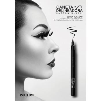 Caneta Delineadora Carbon Black para olhos
