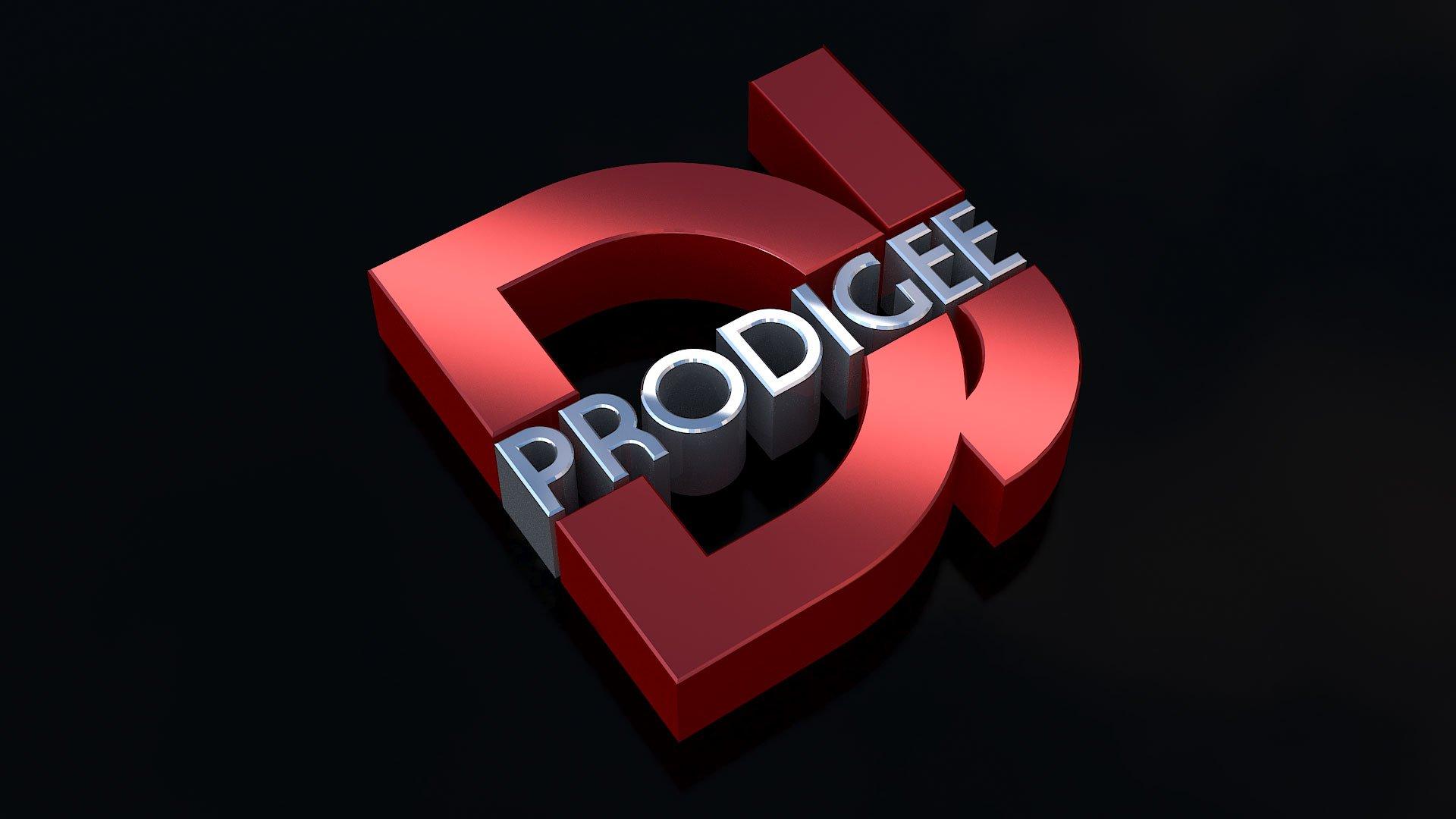 3D Logo Design DJ Prodigee