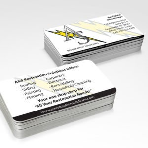 1000 Premium Quality Double-Sided Business Card Prints