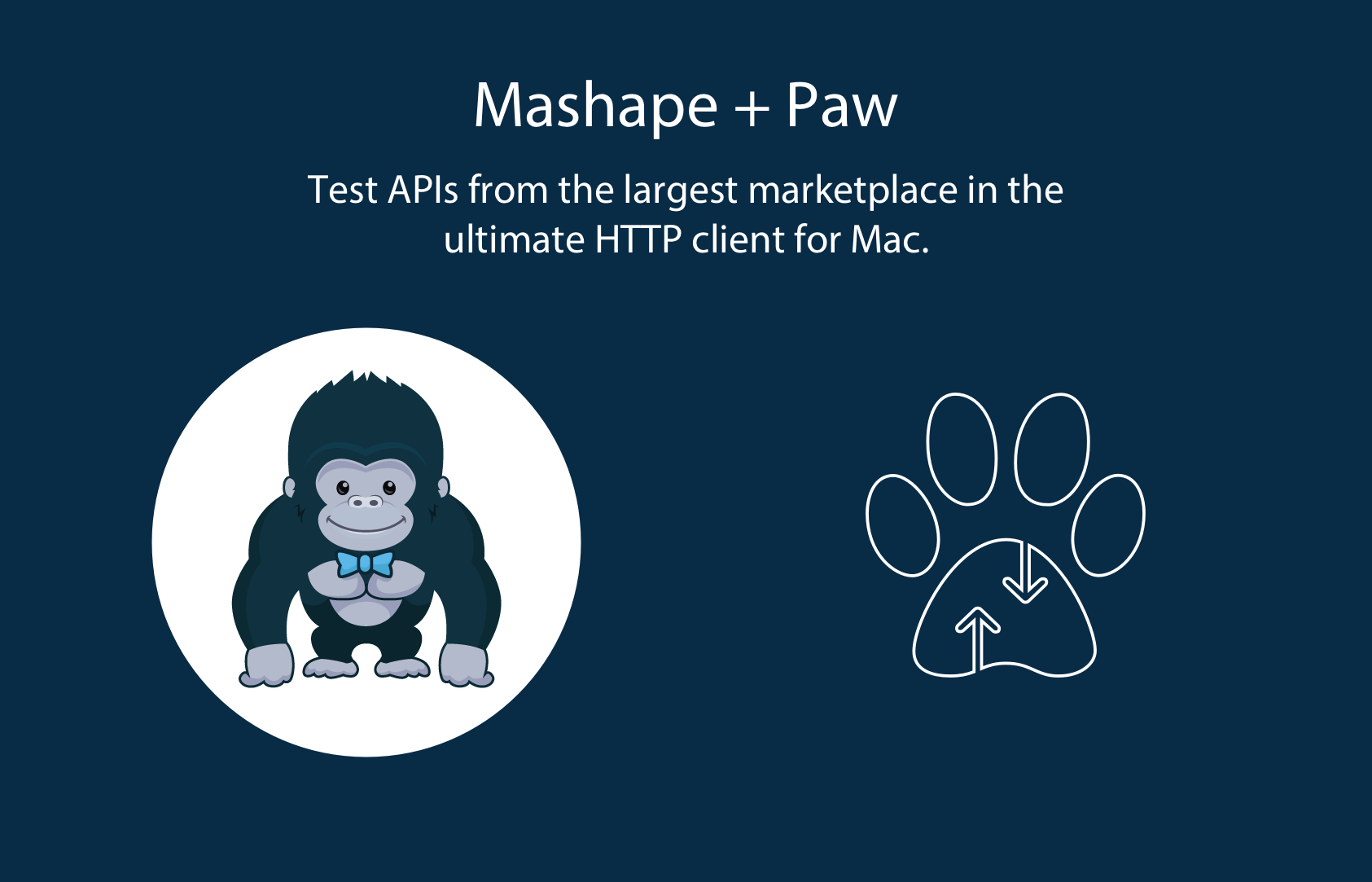 Paw + Mashape, Access over 10,000 public APIs