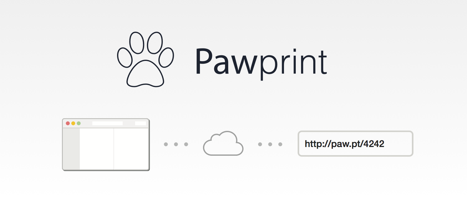 Pawprint, a quick way to share HTTP requests