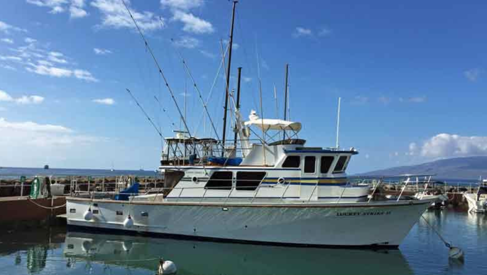 Larger Private Trolling Charter - Lahaina