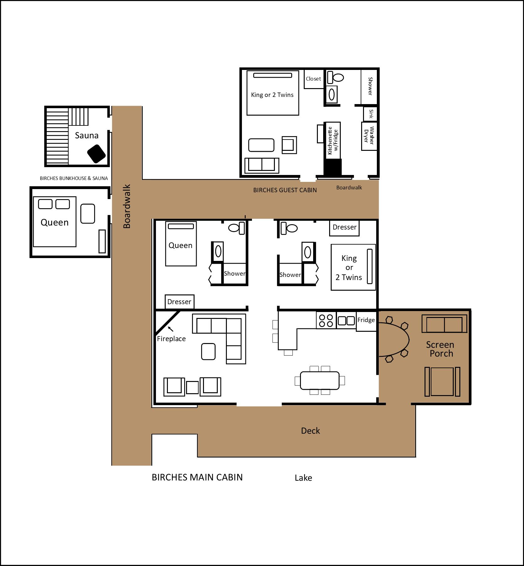 Birches floor plan
