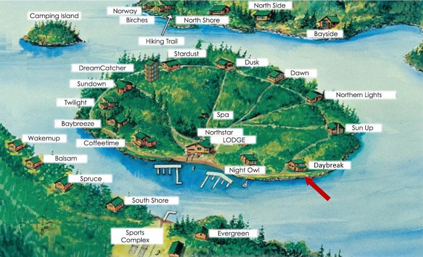 Daybreak-on-Map floor plan