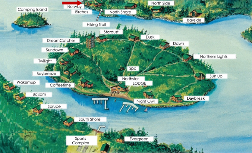 Norway-on-Map floor plan