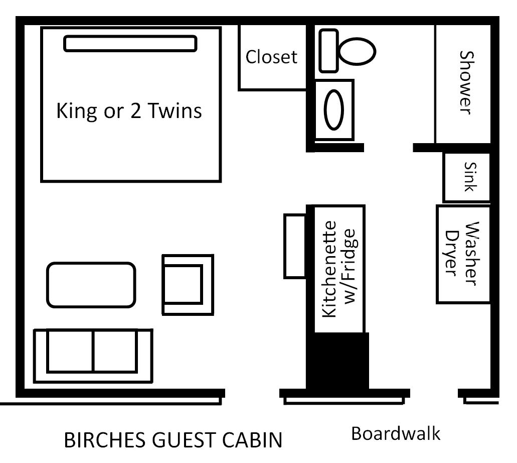 Birches-Guest-Cabin floor plan