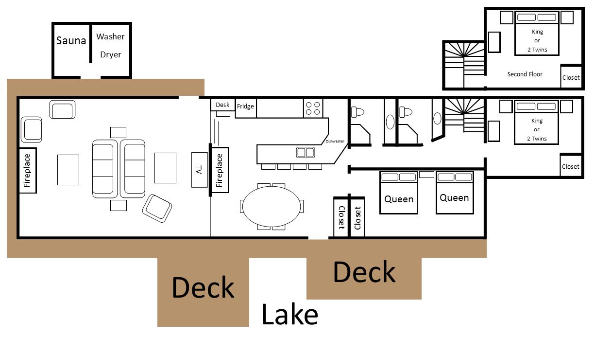 Northside floor plan